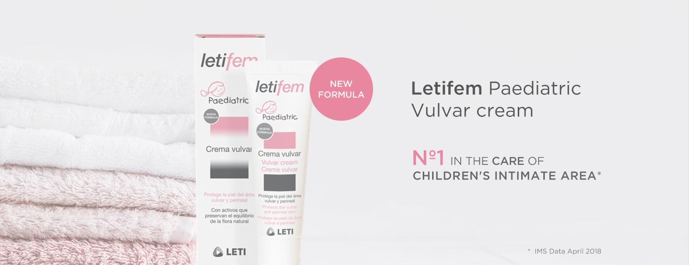 Letifem Paediatric Vulvar cream