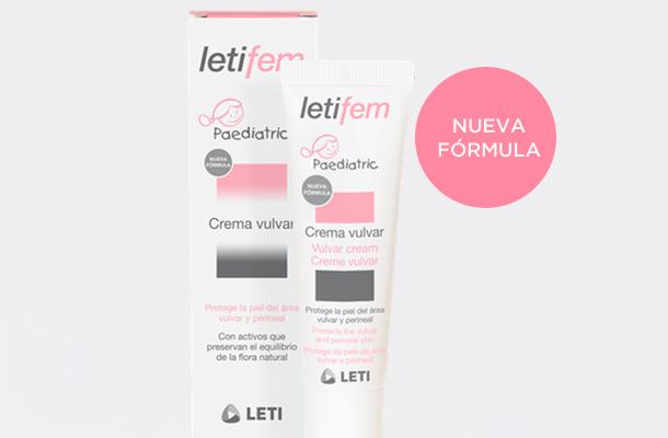 Banner LETIFEM Crema vulvar pediátrica nueva fórmula mayo 18 mobile