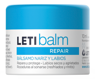 LETIbalm repair balm nose and lips