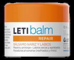 Paediatric LETIbalm, repair balm for nose and lips The first infant repair balm for nose and lip care