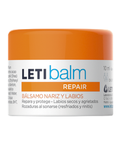 Paediatric LETIbalm, repair balm for nose and lips The first infant repair balm for nose and lip care