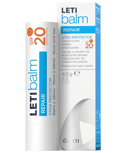 LETIbalm Stick Protector SPF20 nariz y labios