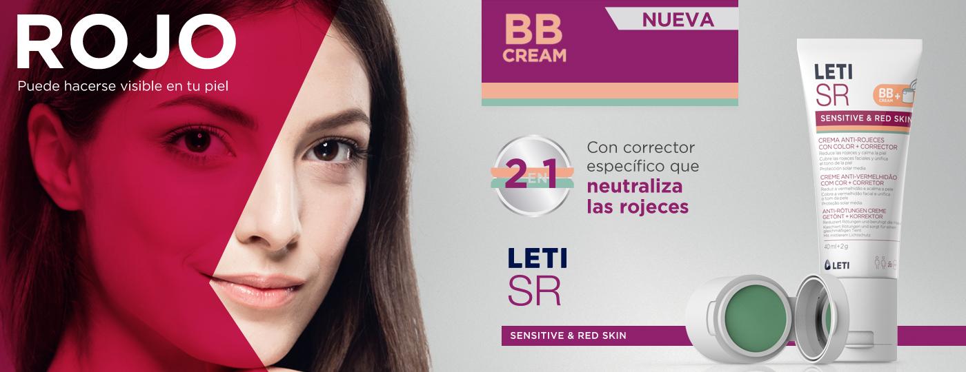 LETISR Crema Anti-Rojeces con color y corrector