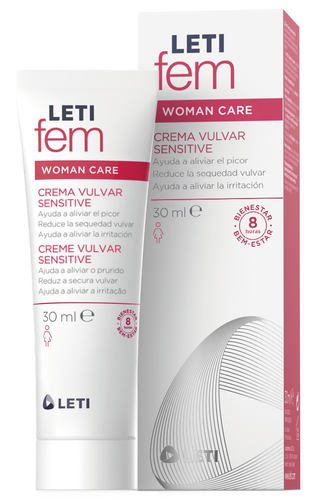 LETIfem Woman vulvar cream Sensitive