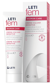 LETIfem Woman crema vulvar Sensitive