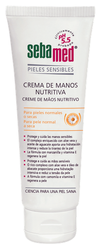 Sebamed crema manos nutritiva 75ml - CN 191499.6