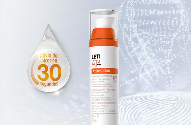 LETIAT4 Hidrogel antipicor para piel atópica