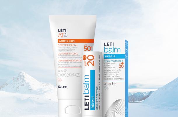 Protección solar en invierno facial y labios mobile