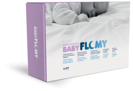 Capa antiácaros Baby FLOMY