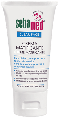 Crema matificante Sebamed Clear Face
