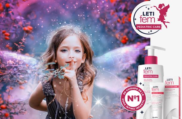 LETIfem higiene íntima pediátrica mejora la calidad de vida de las niñas