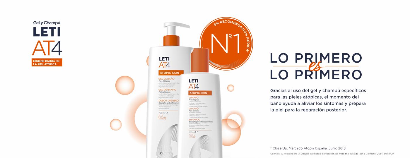 Higiene piel atópica - lo primero es lo primero