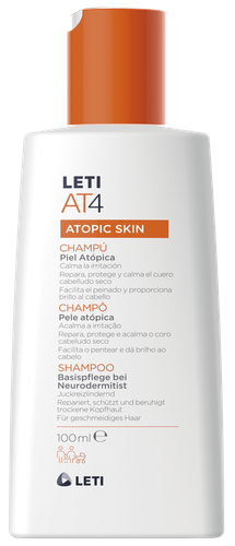 Letiat4 shampoo atopic skin 100ml