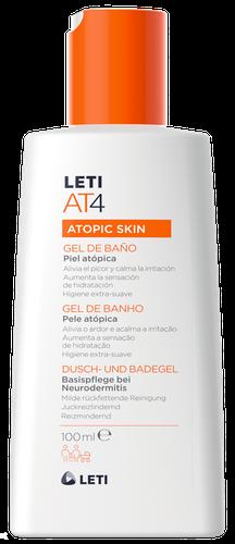 LETIAT4 gel de baño para piel atópica 100ml