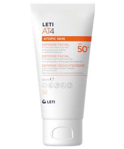 LETIAT4 protección solar facial para pieles atópica SPF50 50 ml