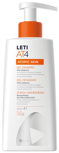 LETIAT4 Bath Gel for atopic skin 250ml