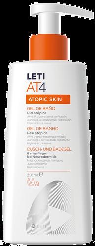 LETIAT4 gel de baño para piel atópica 250ml