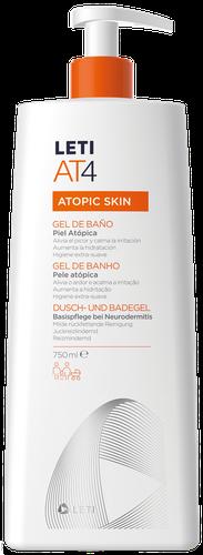 LETIAT4 Bath Gel for atopic skin 750ml