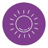 Rojeces faciales exposición solar