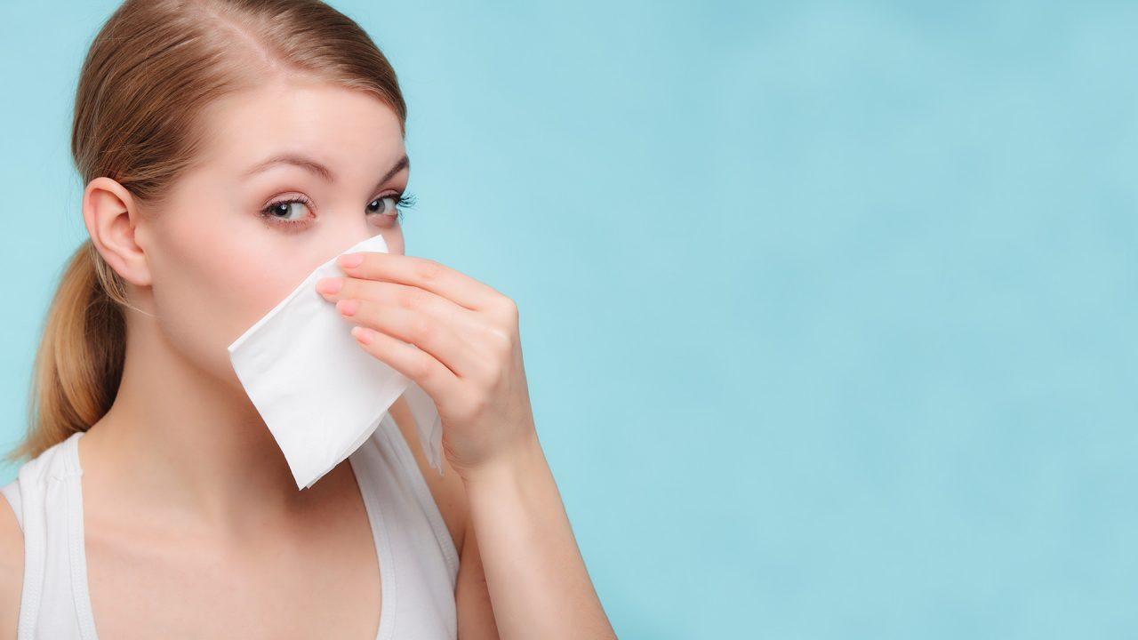 llagas blancas dentro de la nariz