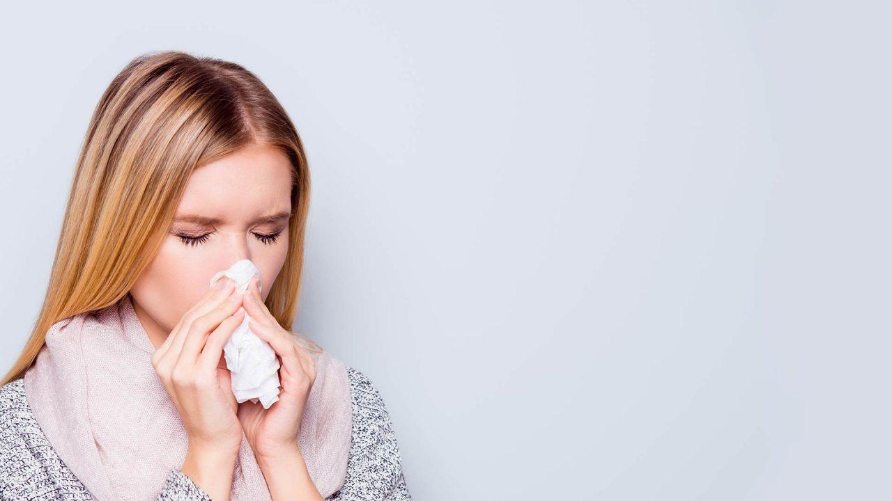 Moco nasal excesivo