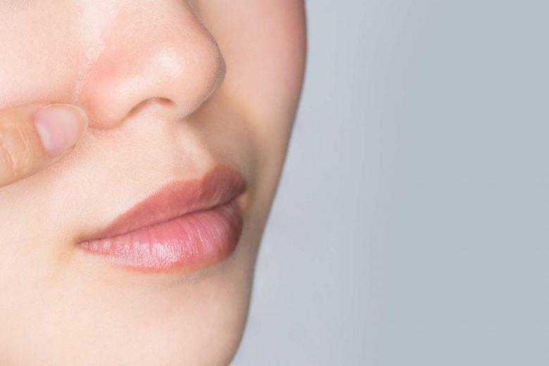 curar heridas nariz